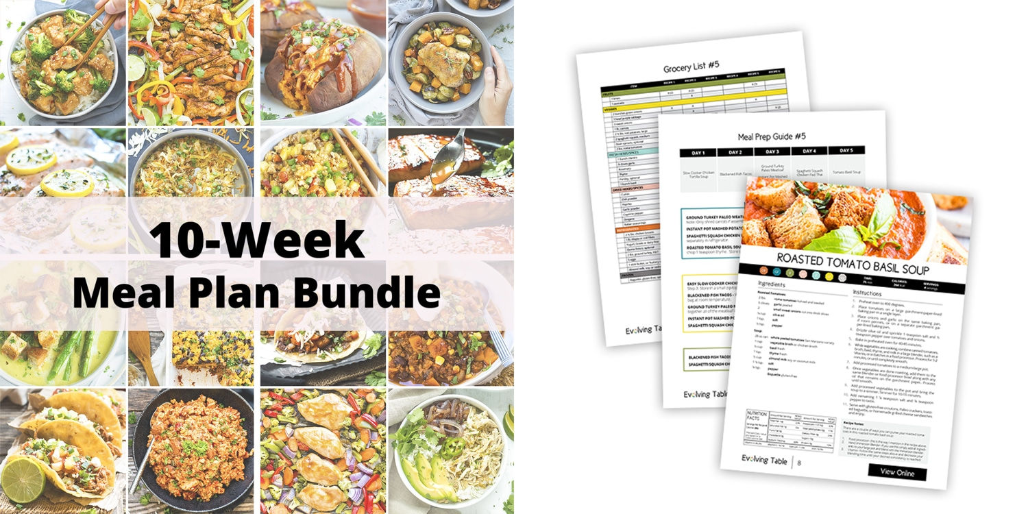 10-Week Healthy Meal Plan and Meal Prep Guide