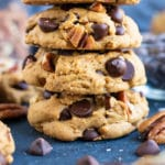 Gluten-Free Chocolate Chip Cookies | The BEST Chocolate Chip Cookie Recipe | Soft, Fluffy, Chewy