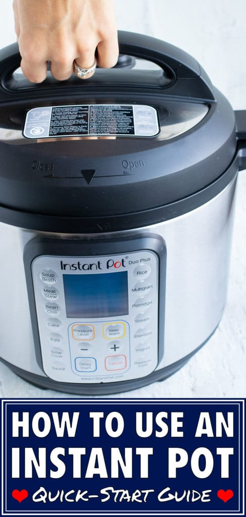 How to Use an Instant Pot   Beginner's Guide to Pressure Cooking