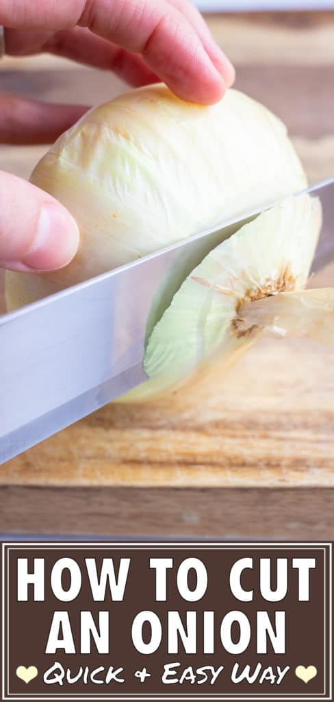 How to Cut an Onion | Slicing, Dicing, Cutting, Chopping Onions