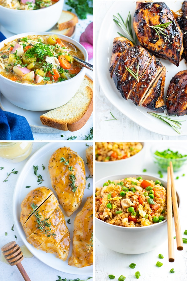 25+ Easy Chicken Breast Recipes | Quick & Healthy