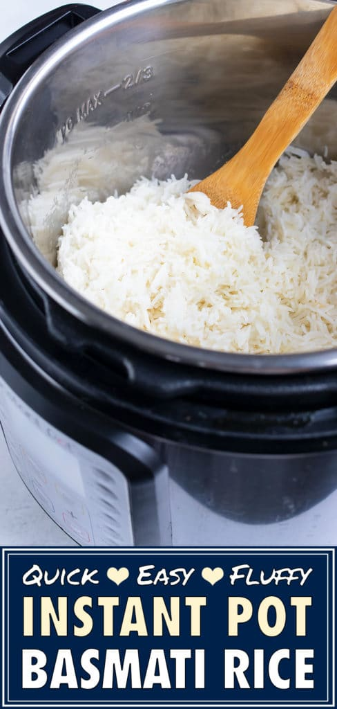 Instant Pot Basmati Rice Recipe | Easy, Fluffy, Soft