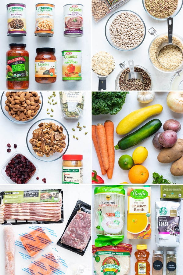 Healthy Pantry, Refrigerator, and Freezer Staples List