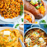 Four quick and healthy sweet potato recipes that are easy to make!