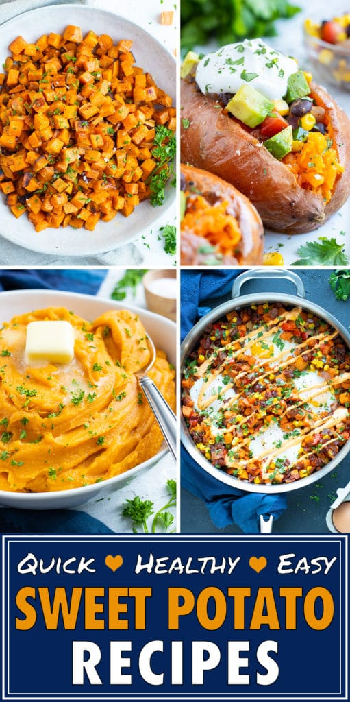 20+ Sweet Potato Recipes | Quick, Healthy & Easy