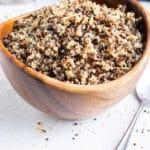 Instant Pot Quinoa   How to Cook Quinoa in Pressure Cooker   Quick, Easy, Fluffy