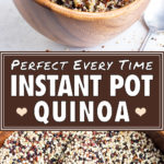 Instant Pot Quinoa | How to Cook Quinoa in Pressure Cooker | Quick, Easy, Fluffy