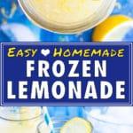 Easy Homemade Frozen Lemonade Recipe | Healthy Summer Drink | Kids Slushie