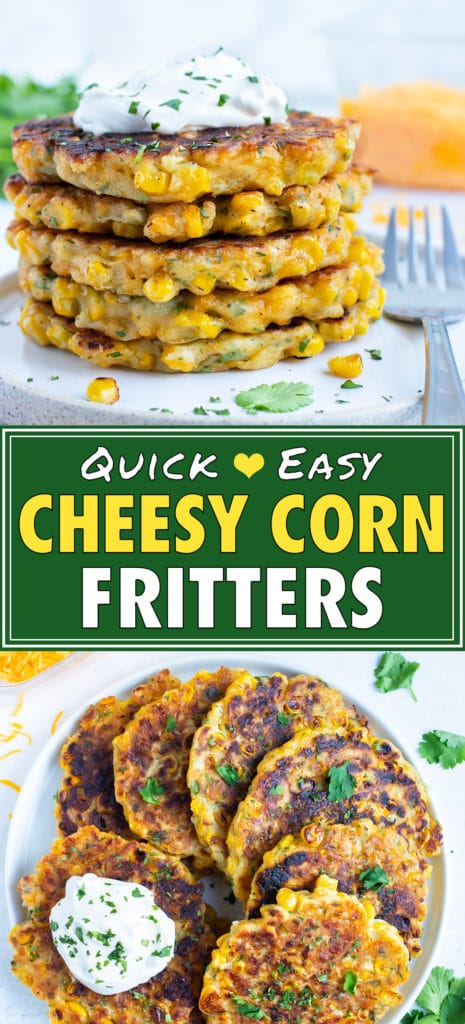 Easy Corn Fritters Recipe | Cheesy, Southern, Fried, Homemade | How to Make Corn Fritters