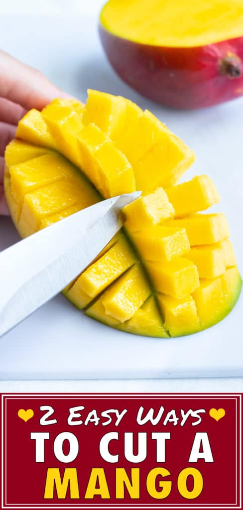 How to Cut a Mango | Peel, Pit, Dice, Slice | Pick a Good Ripe Mango