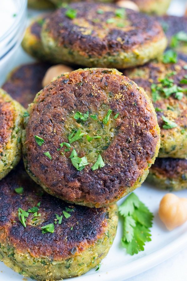 Learn what is falafel as you cook this traditional Mediterranean dish with canned or dry chickpeas.