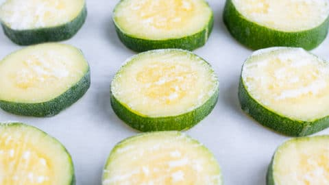 How To Freeze Zucchini Sliced Or Shredded Evolving Table