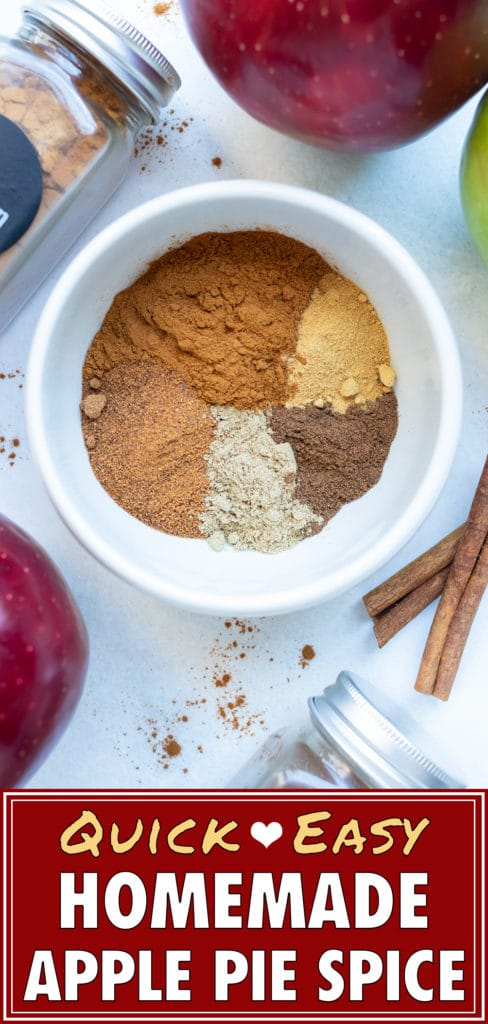 Learn how to make this apple pie spice blend in a few simple steps.