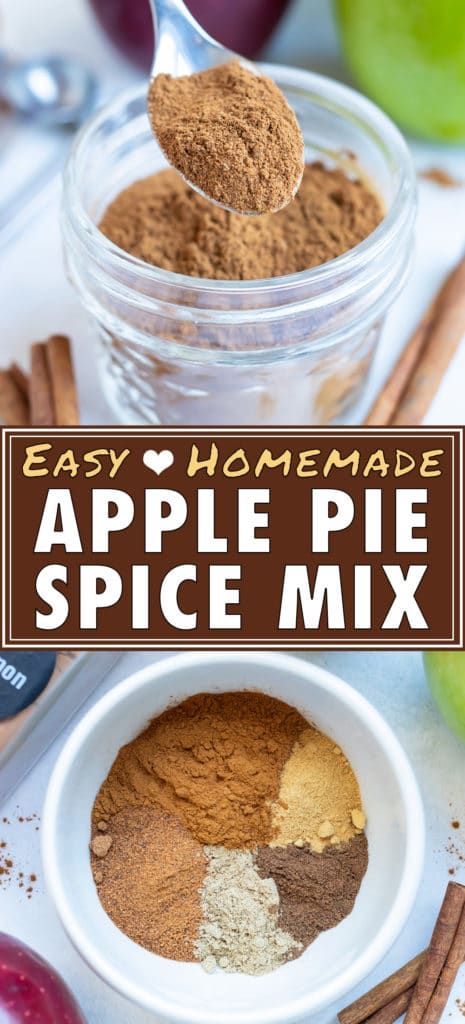 Store this homemade spice blend in an airtight container like a glass spice jar.