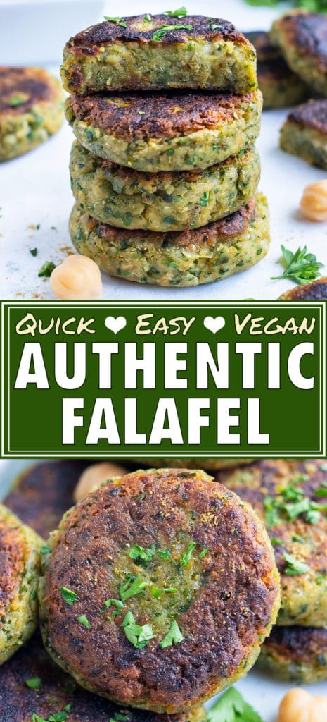 Healthy falafel is plated with tzatziki sauce for a Mediterranean dish.