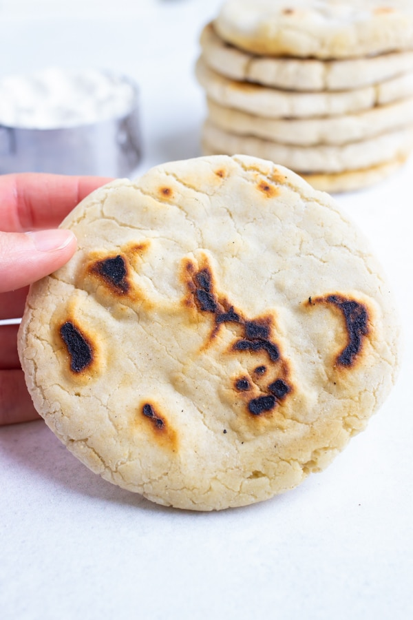 Pita bread recipe can be dipped in sauces or used as a pocket.