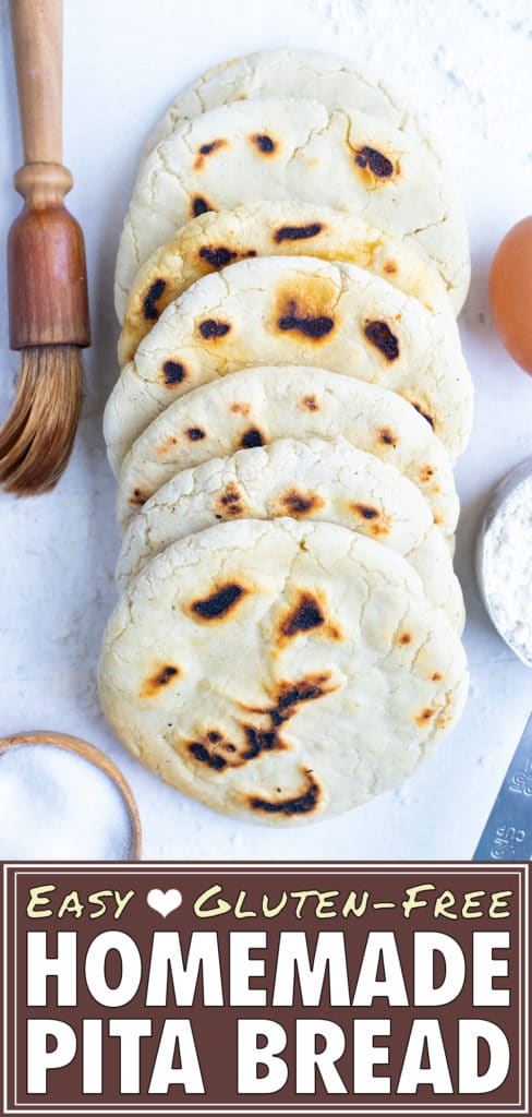 Pita bread recipe can be dipped, folded, or added to your greek recipes.