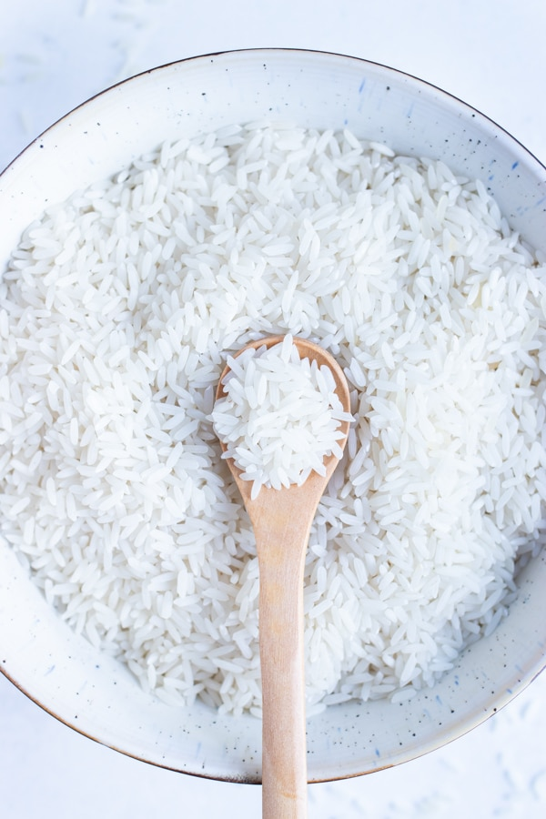 Quickly make fluffy, white rice in your instant pot.