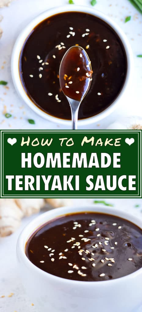 A spoon is used to drizzle teriyaki sauce on your Asian dishes.