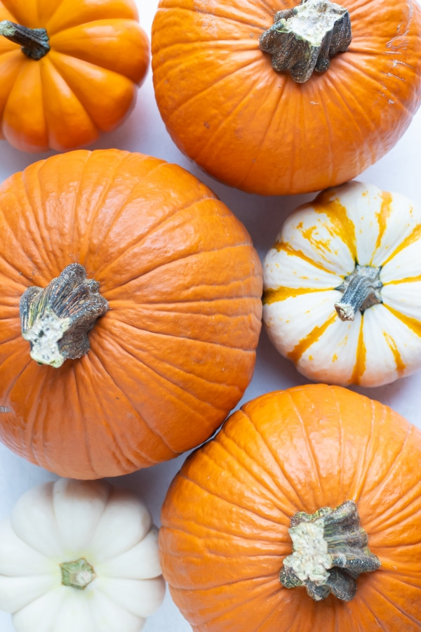 Learn how to make pumpkin puree from different types of pumpkins.