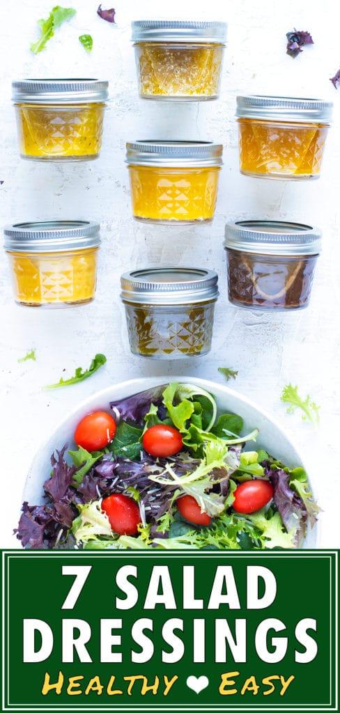 7 Healthy Homemade Salad Dressing Recipes | Easy DIY Vinaigrettes
