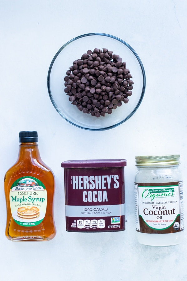 Nutella can be made Paleo with chocolate chips or a coconut oil, cocoa powder, and maple syrup.